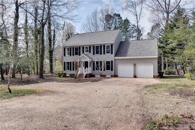 Single Family Home For Sale: 153 John Rolfe Lane