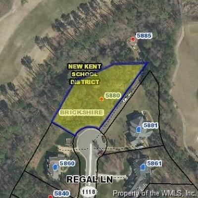 Charles City Co., Isle Of Wight County, James City Co., New Kent County, Newport News County, Suffolk County, Surry County, Williamsburg County, York County Residential Lots & Land For Sale: 5880 Regal Lane