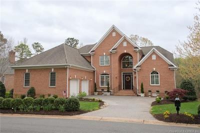 James City County, Williamsburg County, York County Single Family Home For Sale: 160 Killarney