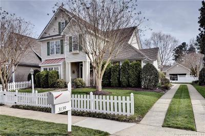 Williamsburg Single Family Home For Sale: 3139 Cider House Road