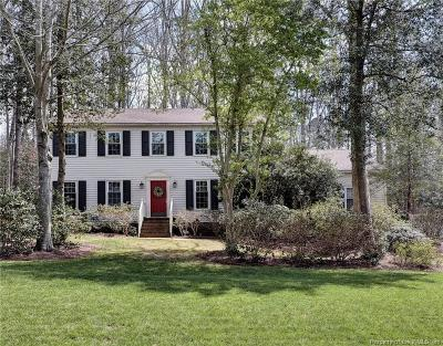 Williamsburg VA Single Family Home For Sale: $374,500