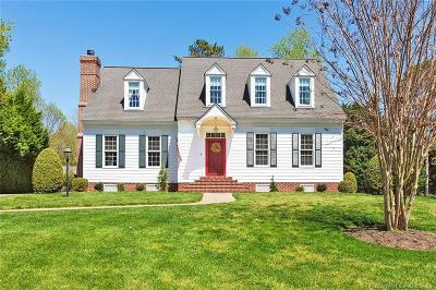 Williamsburg VA Single Family Home For Sale: $645,000