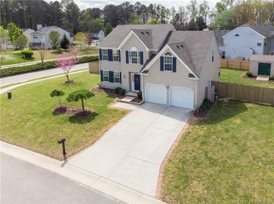 Charles City County, Isle Of Wight County, James City County, Surry County, York County Single Family Home For Sale: 3501 Pine Ridge Road