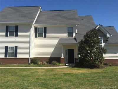 Charles City County, Isle Of Wight County, James City County, Surry County, York County Condo/Townhouse For Sale: 502 Rustads Circle #502