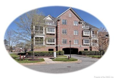 Hampton County, Isle Of Wight County, James City County, New Kent County, Suffolk County, Surry County, Williamsburg County, York County Condo/Townhouse For Sale: 1301 Eaglescliffe
