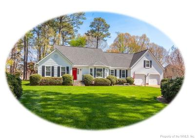 Williamsburg Single Family Home For Sale: 4725 Captain John Smith Road