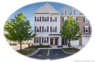 Williamsburg, Toano, Providence Forge Condo/Townhouse For Sale: 1701 Prosperity Court