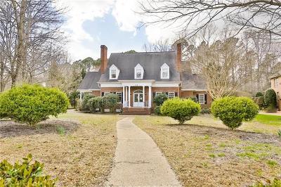 Williamsburg Single Family Home For Sale: 216 Sir Thomas Lunsford