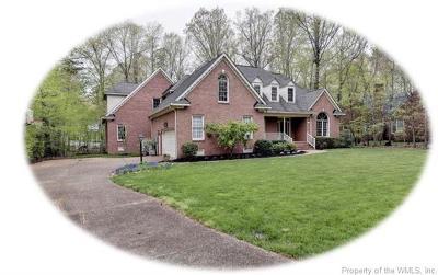 Williamsburg VA Single Family Home For Sale: $665,000
