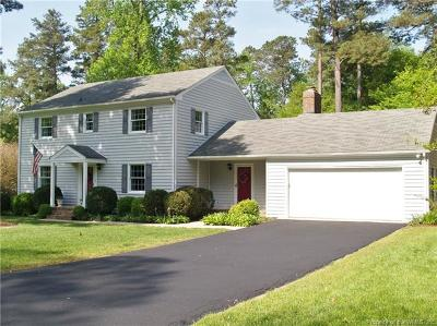 New Kent County Single Family Home For Sale: 7112 Shoreline Drive