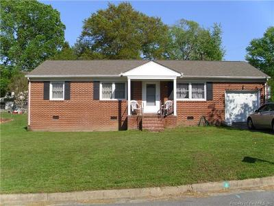 Single Family Home For Sale: 103 Hickory Hills Drive