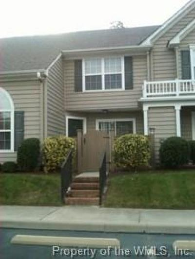 Condo/Townhouse For Sale: 807 Settlement Drive