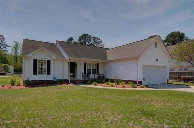 Gloucester Single Family Home For Sale: 2149 Nicole Drive