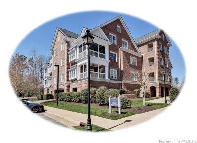 Hampton County, Isle Of Wight County, James City County, New Kent County, Suffolk County, Surry County, Williamsburg County, York County Condo/Townhouse For Sale: 1103 Eaglescliffe