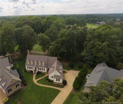 Williamsburg Single Family Home For Sale: 121 Long Point