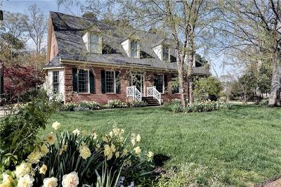 Williamsburg Single Family Home For Sale: 1900 Miln House Road