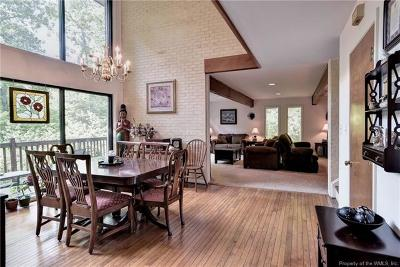 Williamsburg Single Family Home For Sale: 119 Will Scarlet Lane
