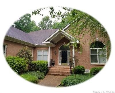 Greensprings Plantation Single Family Home For Sale: 3456 Frances Berkeley