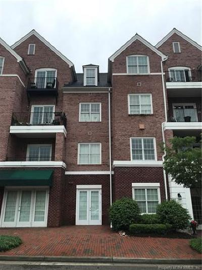 Williamsburg, Toano, Providence Forge Condo/Townhouse For Sale: 5215 Center Street #211