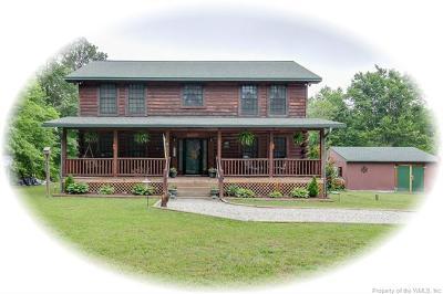Gloucester Single Family Home For Sale: 9333 Sheldon Lane