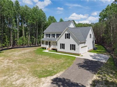 Williamsburg Single Family Home For Sale: 8648 Croaker Road