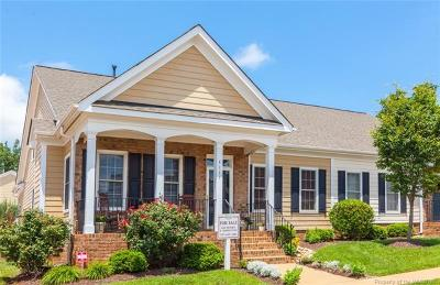 The Settlement At Powhatan Creek, Villas At Five Forks, Colonial Heritage Single Family Home For Sale: 4111 Cooper Nace