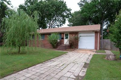 Hampton Single Family Home For Sale: 343 Cabot Drive