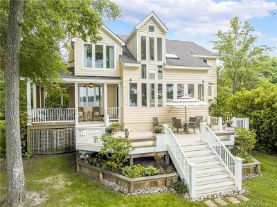 Single Family Home For Sale: 4101 S. Riverside Drive