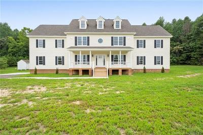 New Kent County Single Family Home For Sale: 19110 Woodmont Plantation