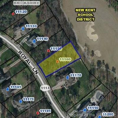 Charles City Co., Isle Of Wight County, James City Co., New Kent County, Newport News County, Suffolk County, Surry County, Williamsburg County, York County Residential Lots & Land For Sale: 11160 Royal Lane
