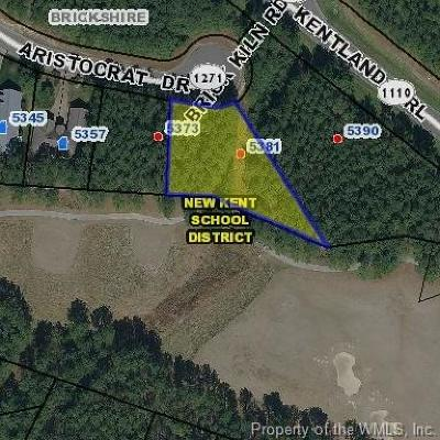 Charles City Co., Isle Of Wight County, James City Co., New Kent County, Newport News County, Suffolk County, Surry County, Williamsburg County, York County Residential Lots & Land For Sale: 5381 Aristocrat