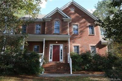 New Kent County Single Family Home For Sale: 11425 Winding River Road