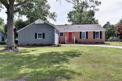 Williamsburg VA Single Family Home For Sale: $235,000