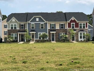 Williamsburg VA Condo/Townhouse For Sale: $234,990