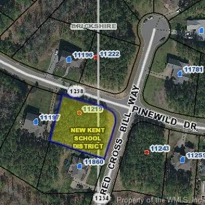 Charles City Co., Isle Of Wight County, James City Co., New Kent County, Newport News County, Suffolk County, Surry County, Williamsburg County, York County Residential Lots & Land For Sale: 11219 Pinewild Drive