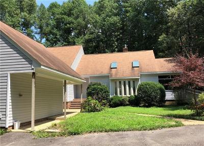 James City County, Williamsburg County, York County Single Family Home For Sale: 114 Barlows Run