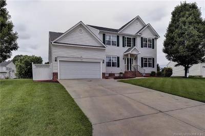 Toano Single Family Home For Sale: 8420 Ashington Way