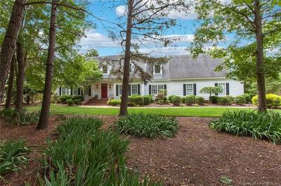 Williamsburg VA Single Family Home For Sale: $614,000