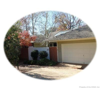 Williamsburg VA Rental For Rent: $2,210
