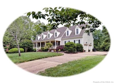 Williamsburg VA Single Family Home For Sale: $535,000