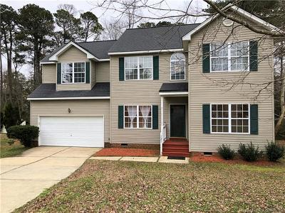 Williamsburg VA Single Family Home For Sale: $329,000
