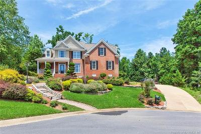 Williamsburg VA Single Family Home For Sale: $549,000