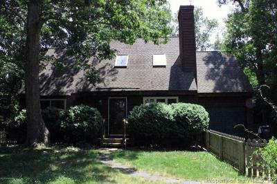 James City County, Williamsburg County, York County Single Family Home For Sale: 133 Sharps Road