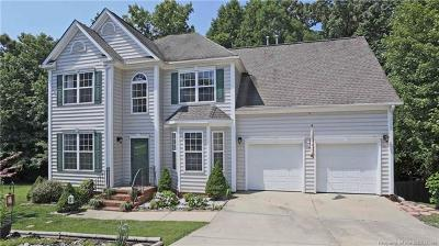 James City County, Williamsburg County, York County Single Family Home For Sale: 4804 Regents Park