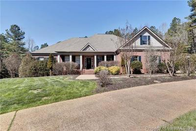 Charles City County, Isle Of Wight County, James City County, Surry County, York County Single Family Home For Sale: 5600 Tyshire Parkway