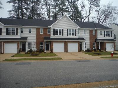 Hampton County, Isle Of Wight County, James City County, New Kent County, Suffolk County, Surry County, Williamsburg County, York County Condo/Townhouse For Sale: Mm Lewis Burwell Place Ext