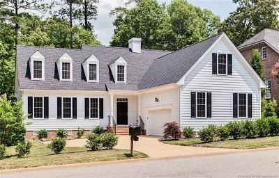 Williamsburg VA Single Family Home For Sale: $469,000