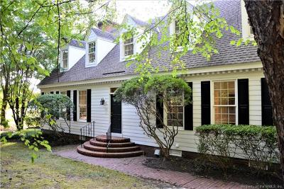 Williamsburg VA Condo/Townhouse For Sale: $275,000