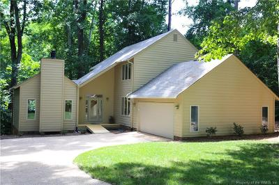 Kingsmill Single Family Home For Sale: 140 Tutters Neck