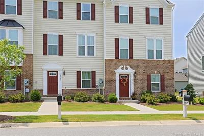 Toano Condo/Townhouse For Sale: 8405 Taverns Lane
